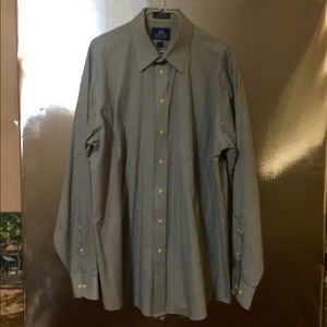 Men's 17.5 36/37 Stafford Long Sleeve Dress Shirt